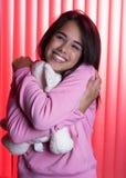 Pajama party Stock Photo