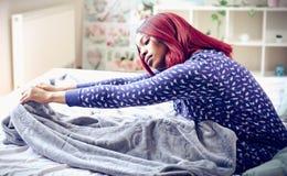 Pajamas all day. stock photography