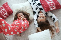 Pajamas party Royalty Free Stock Photo