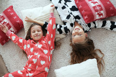 Pajamas party Stock Image