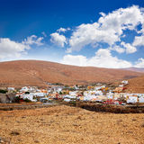 Pajara village Fuerteventura at Canary Islands Royalty Free Stock Photo