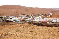 Pajara village Fuerteventura at Canary Islands Royalty Free Stock Image