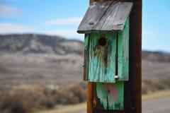 Pajarera verde Foto de archivo libre de regalías