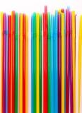 Pajas de beber coloridas foto de archivo libre de regalías