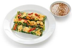 Pajeon, korean food Stock Images