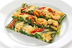 Pajeon, korean food Stock Photo