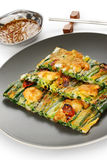 Pajeon, korean food Royalty Free Stock Photography