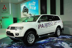 Pajero sport suv Stock Images