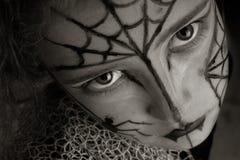 pająk dziewczyna Obrazy Royalty Free