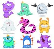 Pak 2 van de Monsters van Halloween Royalty-vrije Stock Fotografie