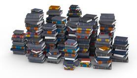 Pak av böcker Arkivbild