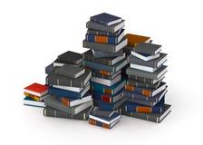 Pak av böcker Fotografering för Bildbyråer