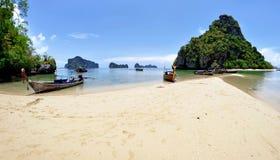 Pak Bia ö i den Phang Nga fjärden Royaltyfri Bild