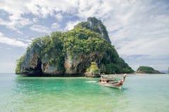 Pak Bia ö nära den Kohhong Hong ön Krabi, Thailand fotografering för bildbyråer
