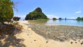 Pak Bia island in the Phang Nga Bay Royalty Free Stock Photo