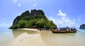 Pak Bia wyspa w Phang Nga zatoce Zdjęcie Royalty Free