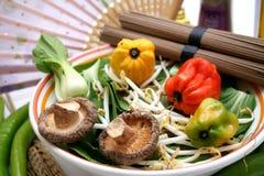 Pak choi vegetables