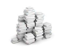 Pak dei libri in bianco Fotografie Stock Libere da Diritti