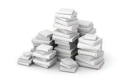 Pak dei libri in bianco Immagini Stock Libere da Diritti