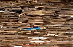 Pak document kartons stock afbeeldingen