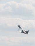 PAK-Fa (T-50) im Himmel Lizenzfreies Stockbild
