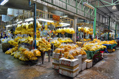 Pak Khlong Talad kwiatu rynek w Bangkok Zdjęcia Stock