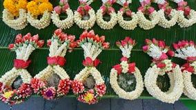 Pak Khlong Talat flower market Royalty Free Stock Photo