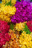 Pak Khlong Talat,. Flower market, Bangkok, Thailand Royalty Free Stock Photo