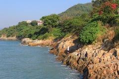 Pak Kok Tsuen, Lamma island Hong Kong Royalty Free Stock Photography