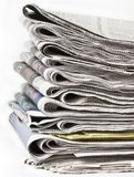 Pak kranten Royalty-vrije Stock Afbeelding