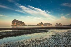 Pak Meng Beach Thailand Arkivbild