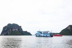 Pak Meng Pier, Trang, Thailand Royalty-vrije Stock Foto