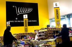 PAK'nSAVE supermarket Fotografering för Bildbyråer