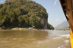Pak Ou Cave. Luang Pra bang,Laos Stock Images