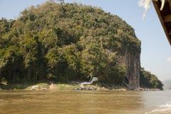 Pak Ou Cave. Luang Pra bang,Laos Stock Image