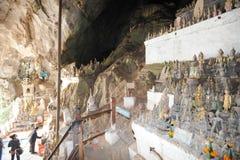 Pak Ou caves in Luang Prabang, Laos Royalty Free Stock Image