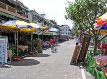 Pak She Praya Road in Cheung Chau stock foto