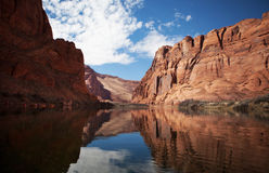 Pak Rafting Glen Canyon, Arizona royalty-vrije stock fotografie
