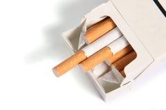Pak sigaretten stock foto's