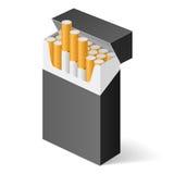 Pak sigaretten Royalty-vrije Stock Afbeelding