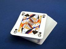 Pak speelkaarten Stock Afbeelding