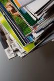 Pak tijdschriften royalty-vrije stock afbeelding