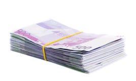 Pak van euro Royalty-vrije Stock Afbeelding