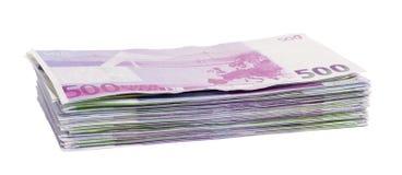 Pak van euro Royalty-vrije Stock Afbeeldingen