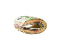 Pak van geld stock foto's