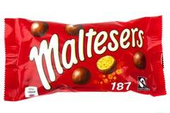 Pak van Maltesers Stock Fotografie