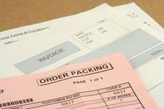 Paket Lizenzfreies Stockbild