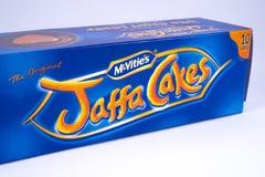 Paket von Jaffa-Kuchen Lizenzfreie Stockbilder