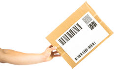 Paketlieferung Lizenzfreie Stockbilder