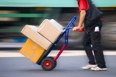 Paketservice Stockfotos